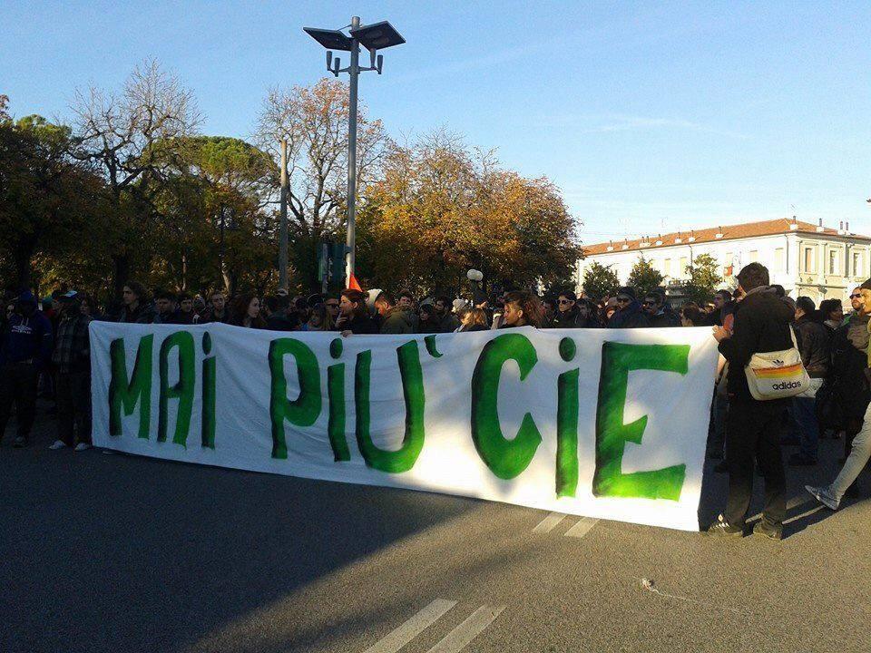 Presidio a Gorizia contro la riapertura dei CIE – 7 Gennaio 2017