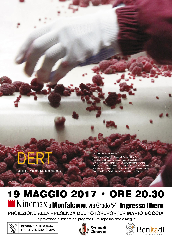 Proiezione del documentario DERT di Stefano e Mario Martone